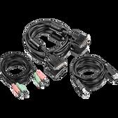 TK-CD06 | TRENDnet: 6 ft. DVI-I, USB,and Audio KVM Cable Kit