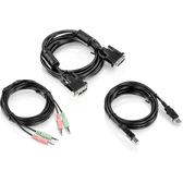 TK-CD10 | TRENDnet: 10 ft. DVI-I, USB,and Audio KVM Cable Kit