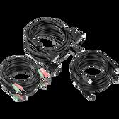 TK-CD15 | TRENDnet: 15 ft. DVI-I, USB,and Audio KVM Cable Kit