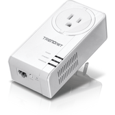 TPL-423E | TRENDnet: Powerline 1300 AV2 Adapter with Built-in Outlet