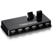TU2-H10 | TRENDnet: 10-Port High Speed USB Hub w/ Power Adapter