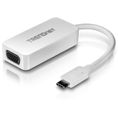 TUC-VGA | TRENDnet: USB 3.1 Type C to VGA Adapter