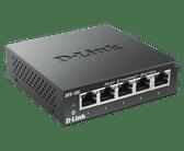 DES-105 | D-Link: 5-Port 10/100 Unmanaged Desktop Switch