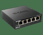 DGS-105 | D-Link: 5-Port Unmanaged Gigabit Desktop Switch