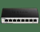 DGS-1100-08 | D-Link: 8-Port Gigabit Smart Managed Switch