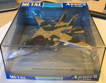 F-14 Tomcat Plane U.S. Navy Top Gun Franklin Mint