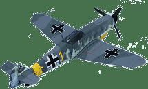 BF-109 Messerschmitt Luftwaffe Lieut. Hermann Graf