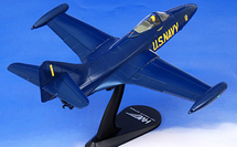 """F9F-2P Panther Lcdr. R.E. """"Dusty"""" Rhodes, Team Leader, Blue Angels"""