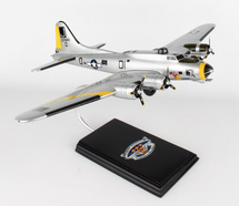 B-17G Liberty Bell 1/60 Mahogany Display Model