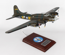 B-17F Flying Fortress MB 1/54 Mahogany Display Model