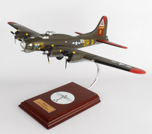 B-17G Nine O Nine 1/62 Mahogany Display Model