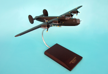B-24J Liberator Olive 1/72 Mahogany Display Model