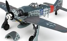 """Fw 190A Luftwaffe JG 26 Schlageter, """"Black 13"""", Josef Priller, Rambuillet, France, June 1944"""