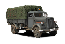 Kfz.305 Blitz Truck German Army, Eastern Front, 1941, w/1 Figure