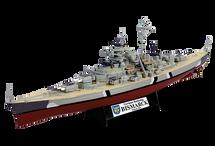 Battleship German Navy, Bismarck, Poland, 1941