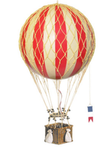 Jules Verne Balloon, Yellow Authentic Models