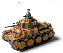 German Panzer 38(t) (New Paint, New Pkg)