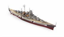 German Battleship Bismark - Poland, 1941
