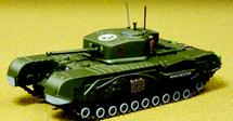 Churchill Mk.VII 6th Guards Tank Brigade, British Army, 1944
