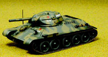 T-34 /76 130th Tank Brigade 21st Armored Corps USSR 1942