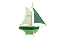 Green Sailer, HO3 Authentic Models