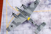 Bf 110E Luftwaffe 4./ZG 1, S9+AM, Eastern Front, Winter 1941