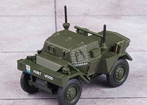 Dingo Scout Car British Army 8th King`s Royal Irish Hussars