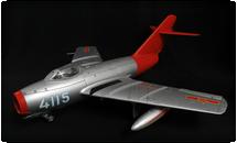 """MIG-15, PLAAF J-2(F-2) """"Fox Tail"""" Korean War"""