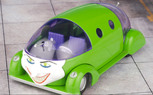 "Jokermobile, The Joker, ""Batman"" Comic #37"