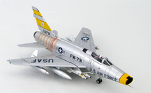 F-100D Super Sabre 1st Lt. Joe H. Engle, 474th Fighter Day Wing