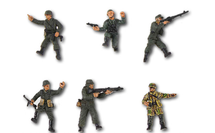 German Army, Attack Forces 6-Piece Set