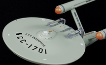 Constitution-class Heavy Cruiser Starfleet, USS Enterprise w/Magazine