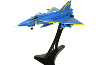 Viggen Swedish Air Force, #16-32 Blue Peter Uppsala, Sweden