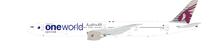 Qatar One World B777-300 A7-BAG