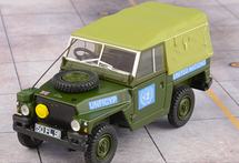 Land Rover Diecast Model United Nations