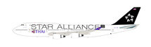 Thai Airways --Star Alliance  Boeing 747-4D7 HS-TGW