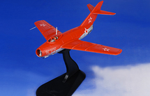 """MiG-15 Fagot Soviet Air Force Red Falcons, """"Red 573"""", USSR"""