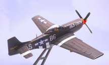 """P-51D Mustang as Flown by Pilot/Ace Clarence E """"Bud"""" Anderson"""