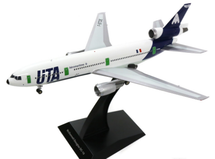 UTA Aeromaritime DC-10-30 F-BTDE Polished with stand