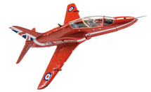 Hawk T.Mk 1 RAF Red Arrows, XX242, RAF Scampton, England