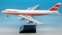 TWA B747-200 N93119 with stand