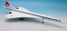BA/AF Concorde F-WTSA with stand