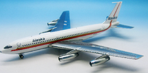 Alaska Airlines Boeing 720-062 N720V with stand
