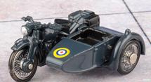 M20 Motorcycle w/Sidecar RAF