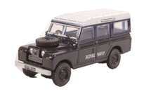 Land Rover Series II LWB Station Wagon – Royal Navy