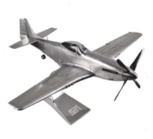 P-51 Silver WWII Authentic Models