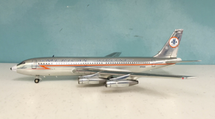 "American Airlines N7540A Boeing 720 ""Lightning Bolt"" Polished w/ Stand"
