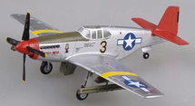 P-51C Mustang USAAF 332nd FG, 100th FS Tuskegee Airmen, Daisy Mae, Woody Crockett, Ramitelli Airfield, Italy, 1944
