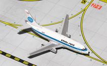 Pan American World Airways 737-200, N67AF Gemini Diecast Display Model