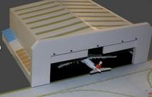 Widebody Aircraft Hangar 1:400 Scale Gemini Diecast Display Model